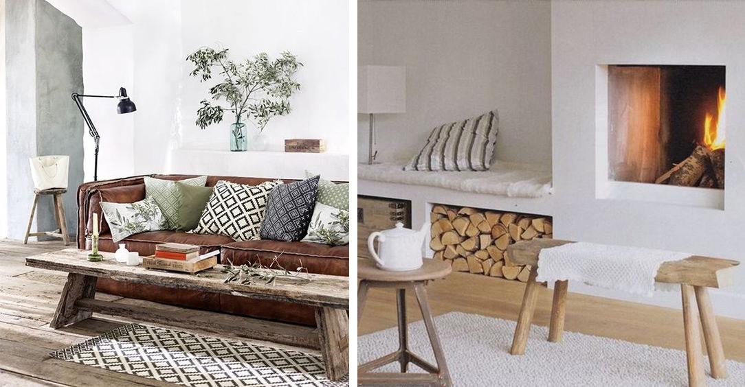 Banc, le meuble polyvalent dans le salon : assise ou table basse