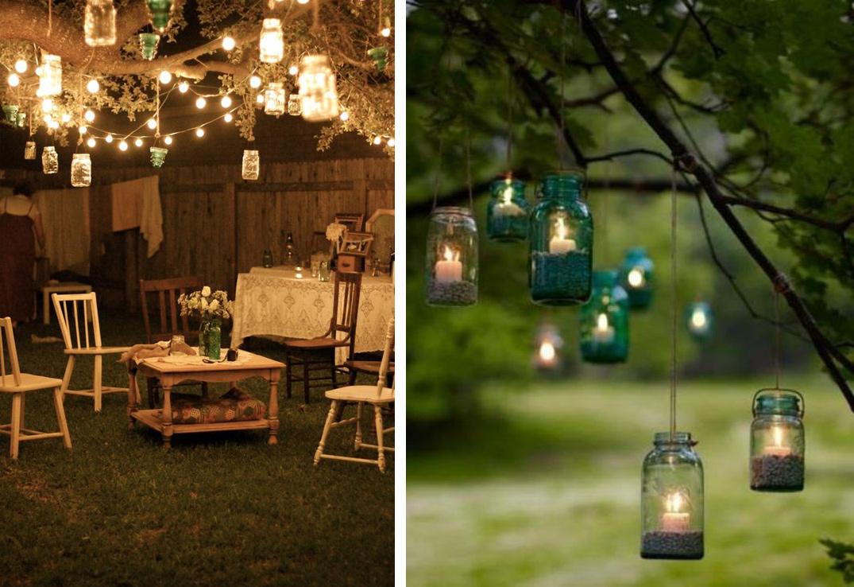 Lampions et bocaux DIY