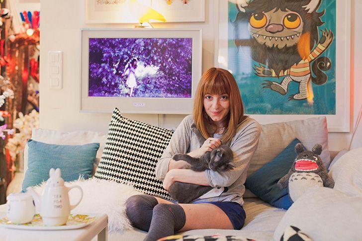 Bloggueuse chat maison déco et joie de vivre