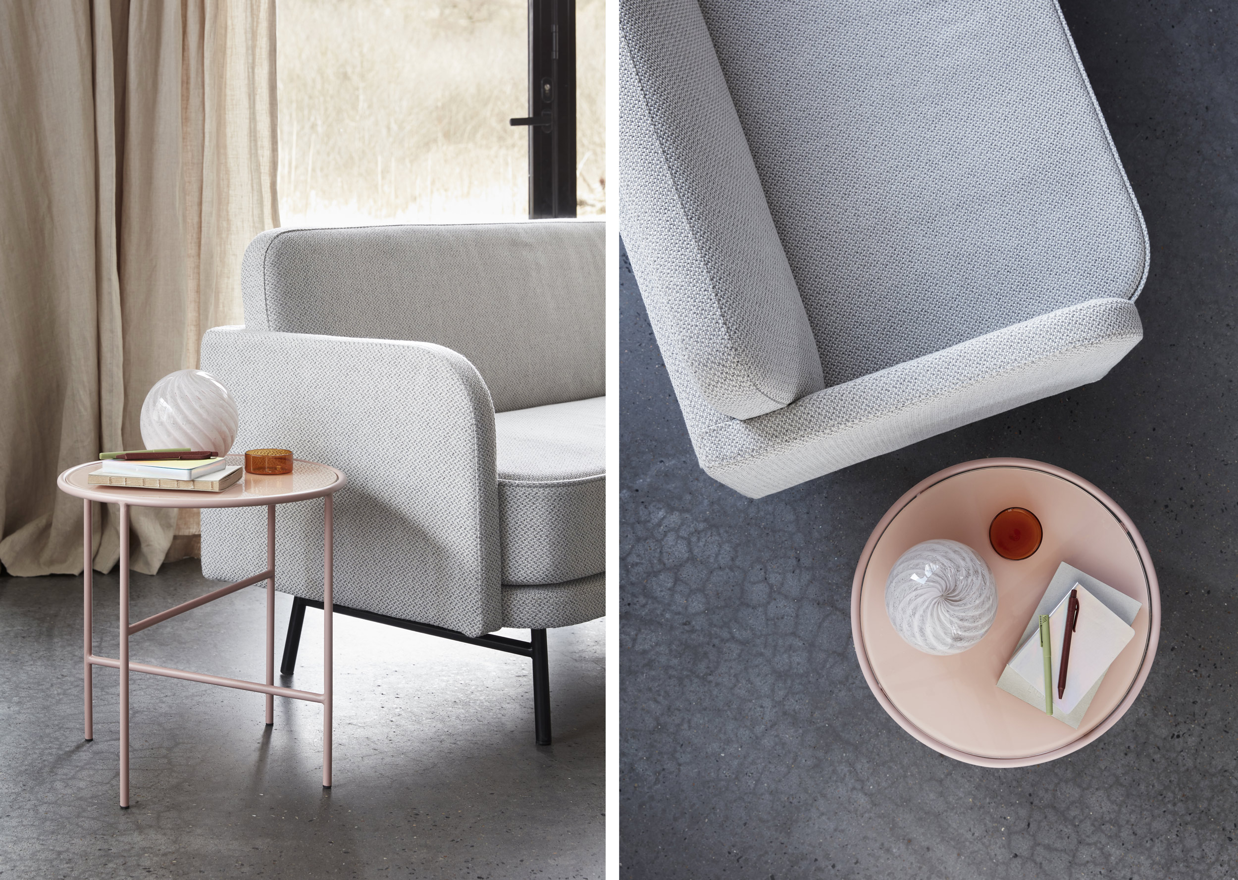 Hubsch canapé Nilsa design