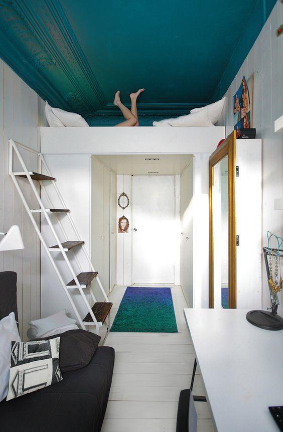 Lit mezzanine petit studio
