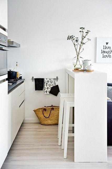 Cuisine dans un studio, aménager et optimiser l'espace