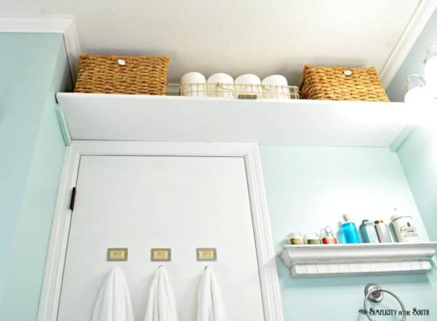 Salle de bain et rangements astucieux