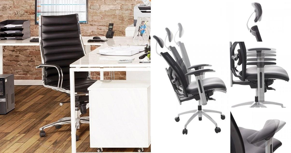 Fauteuil de bureau réglable et ergonomique télétravail particulier