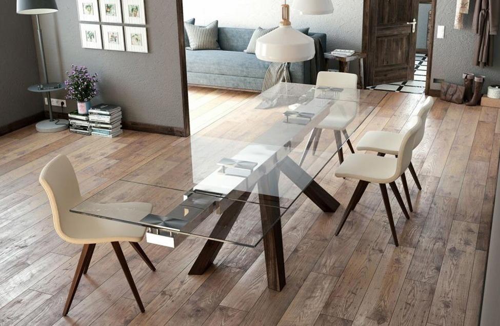Table en verre Otilia