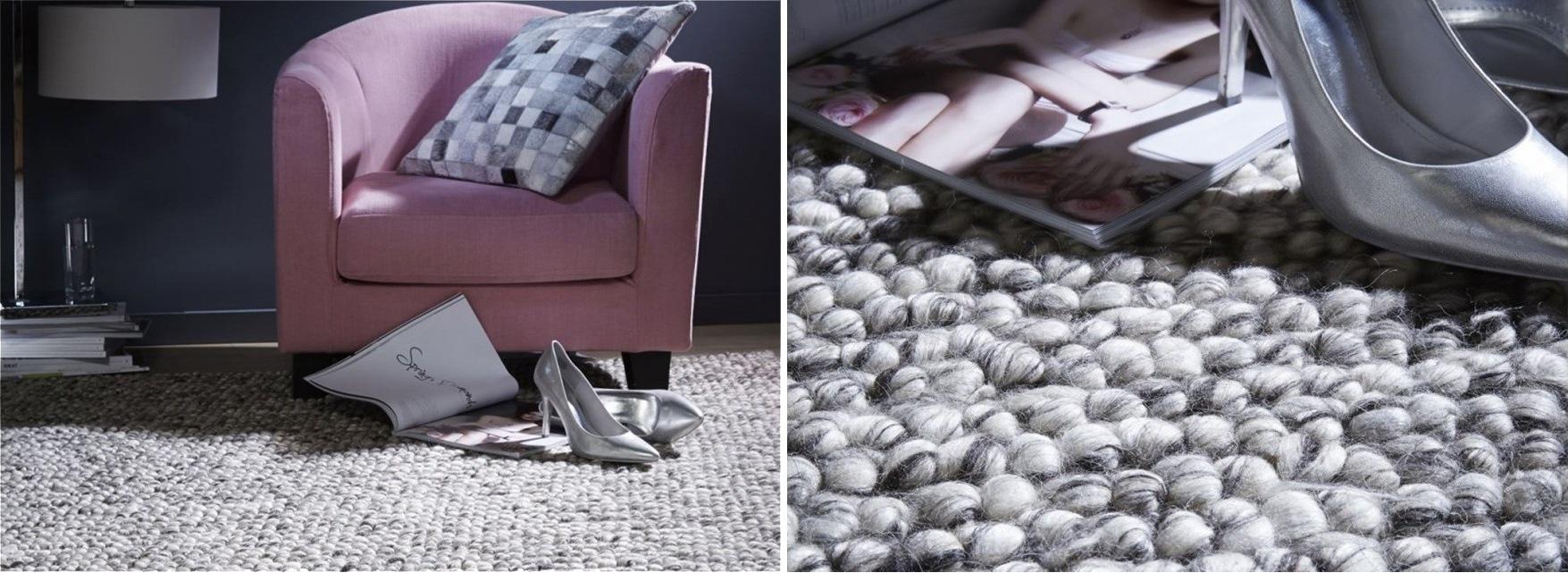 Tapis régal en laine à grosse maille pour tenir chaud et isoler du sol