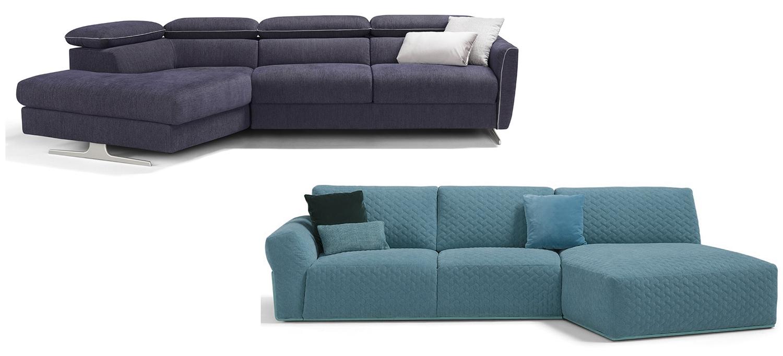 Canapé d'angle panoramique design et moderne