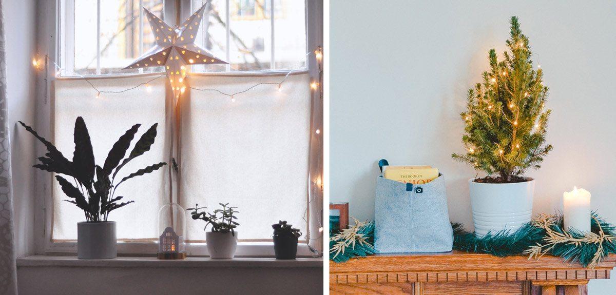 Lumières de Noël : bougies, guirlandes et ambiances feutrées