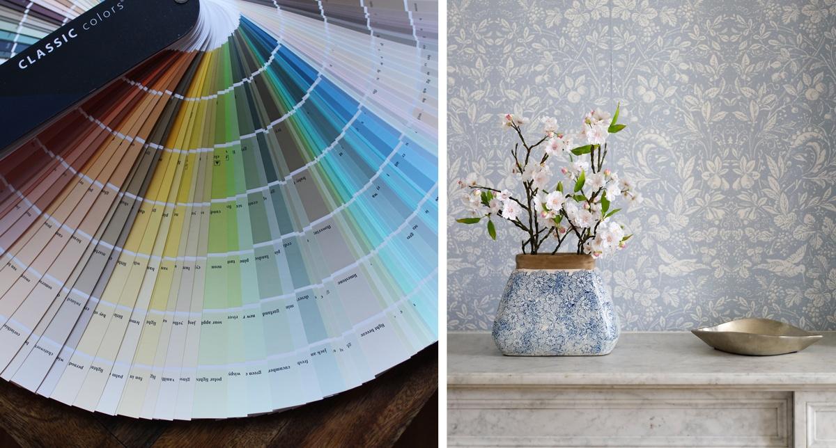 Choisir une palette de couleurs pour la déco