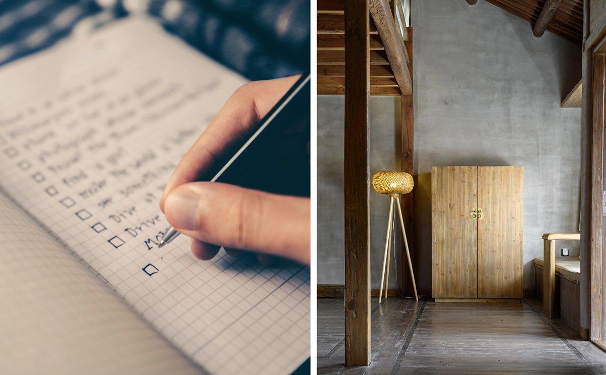 To do list des petits bricolages à faire dans la maison
