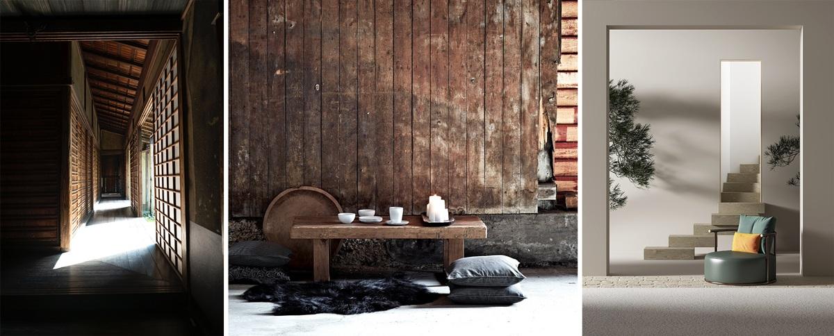 Design japonais et asiatique : matières naturelles
