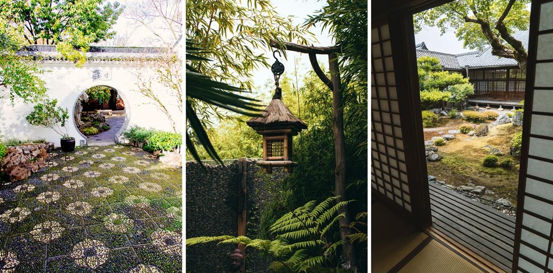 Jardin zen déco asiatique outdoor