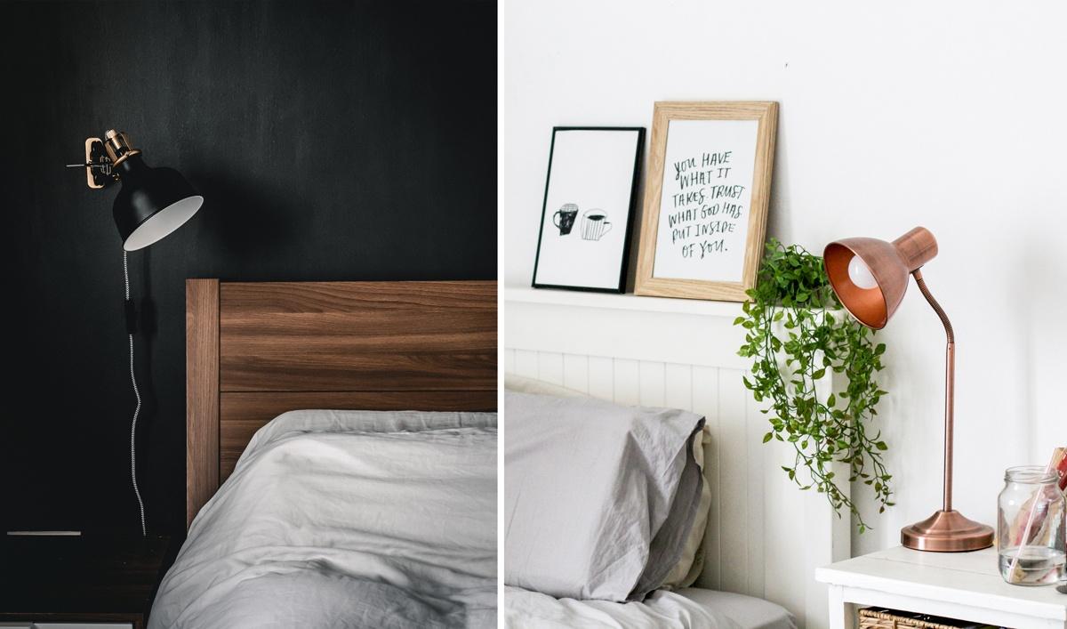 Luminaires déco et design pour la chambre et table de chevet