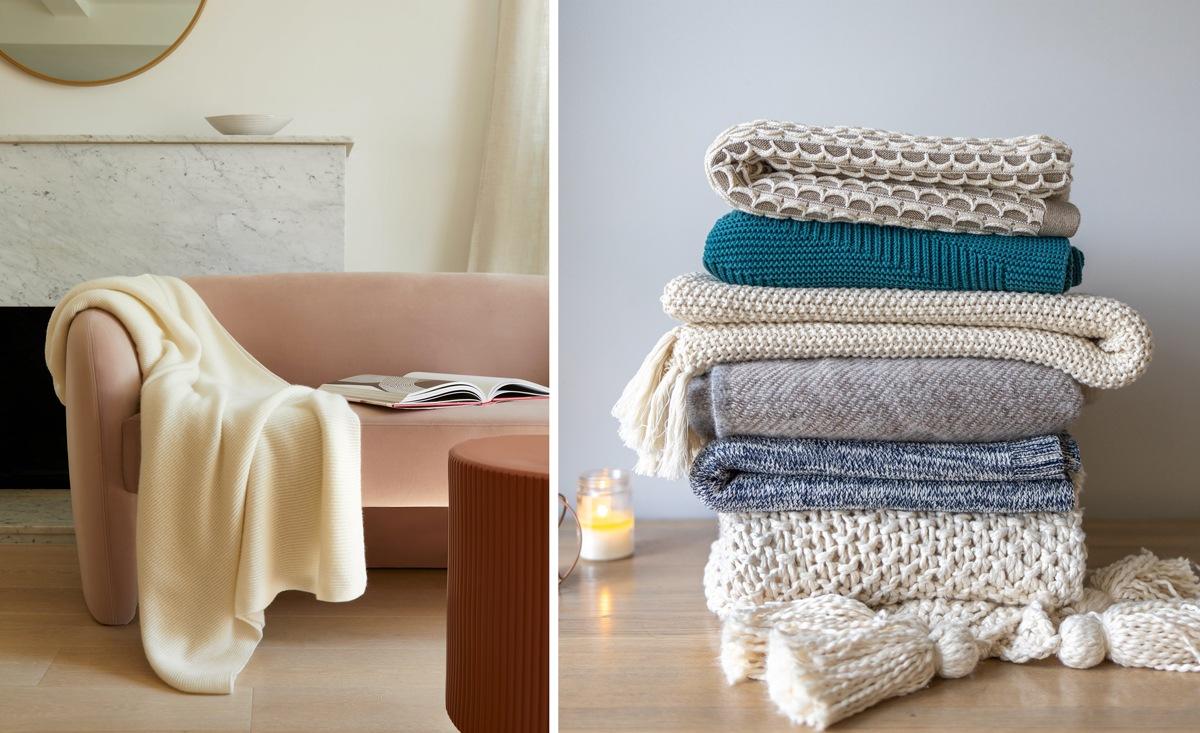 Plaid moelleux et cosy pour un hiver hygge