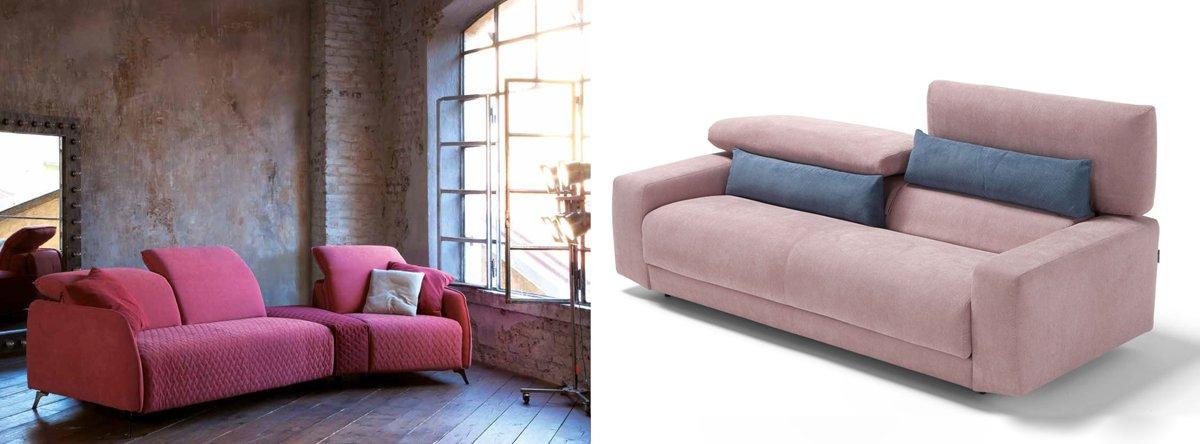 Canapé rose : Brisbane ou Novare