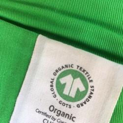GOTS logo label éco-responsable textiles tissus