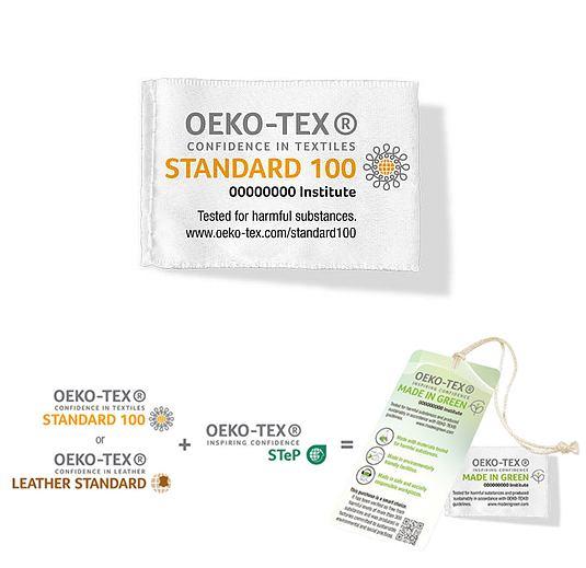Oeko-Tex Standard100 et Made in Green
