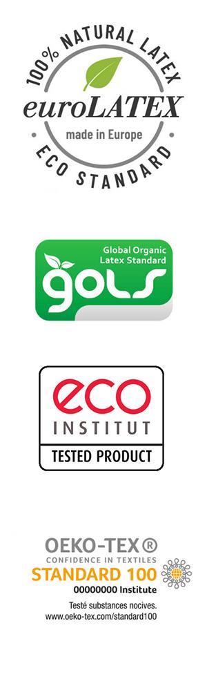 Les éco-labels du latex naturel