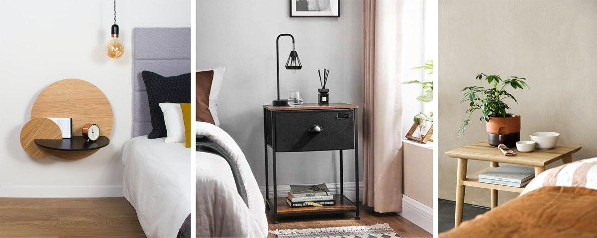 Une table de nuit pour une chambre à coucher confortable au quotidien