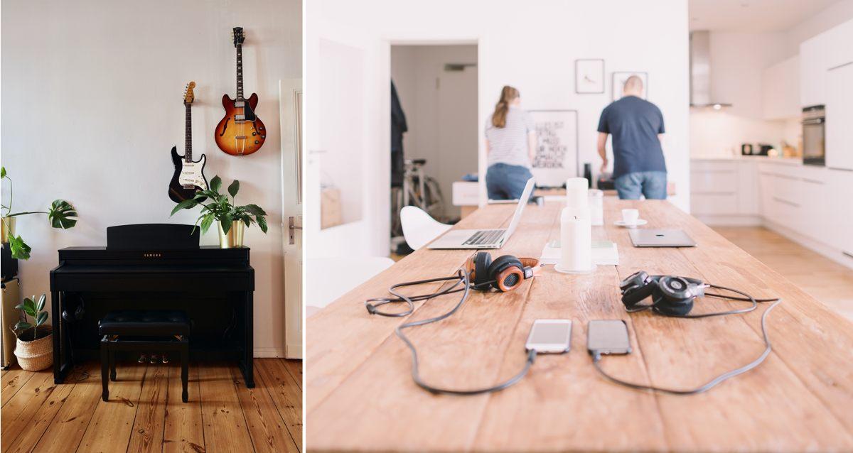 Musique et son dans la maison : traitement acoustique de l'intérieur