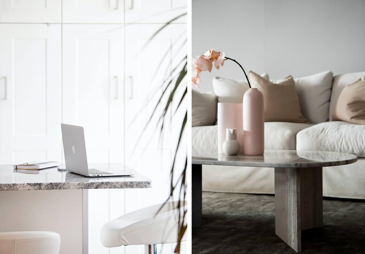 Marbre et décoration intérieure tendance