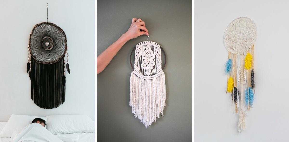 Attrape-rêves en macramé DIY