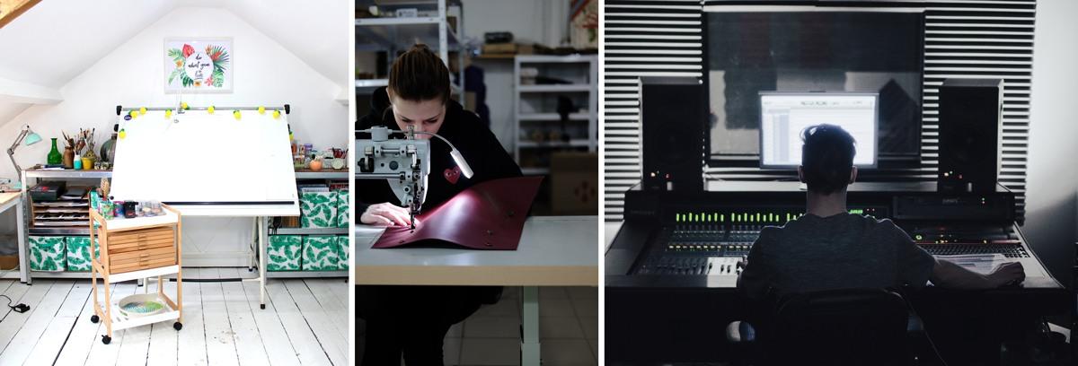 Table adaptée à l'activité de travail