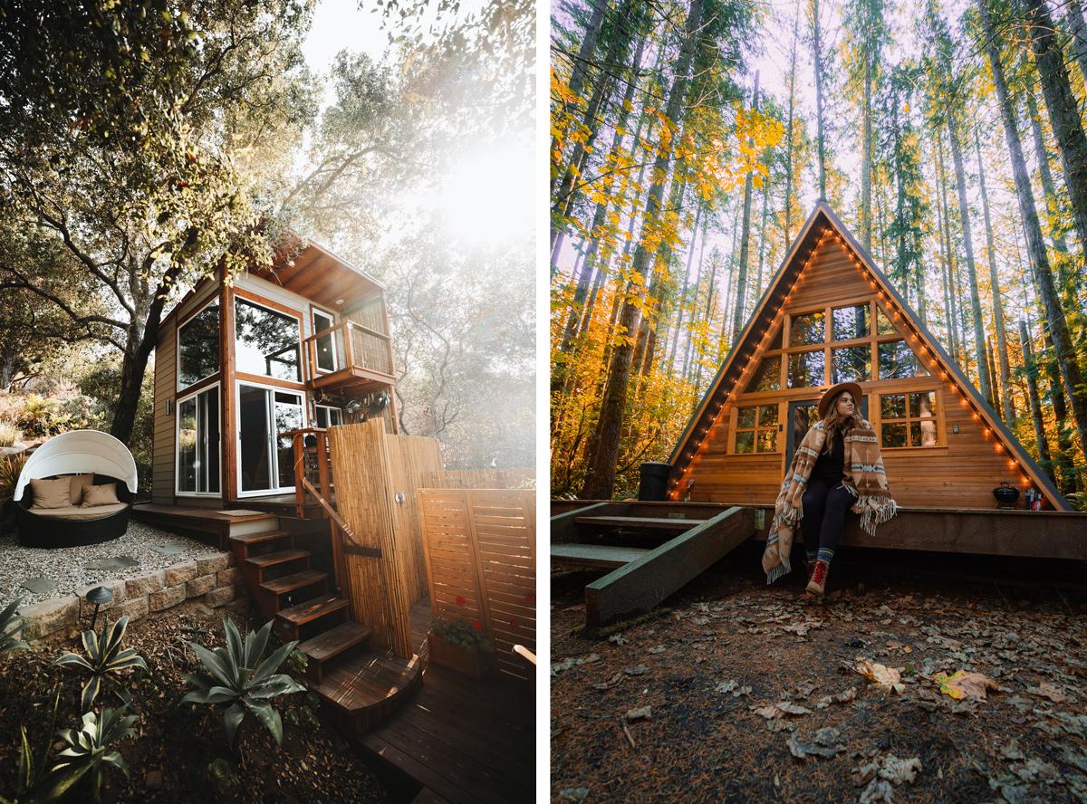 tiny house jardin nature extérieur grand espaces et slow-living