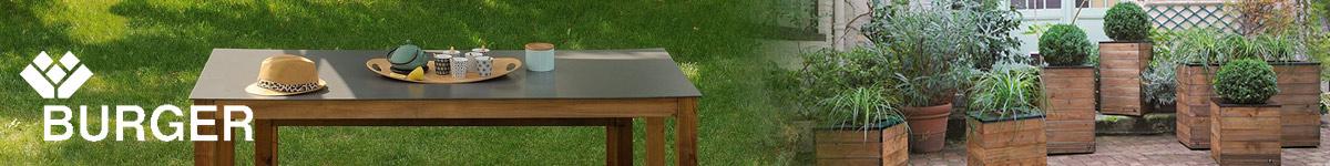 Burger, créateur de mobilier et accessoires de jardin en bois