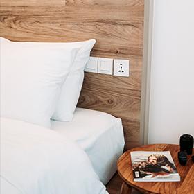 Oreillers Chambre d'hôte, gite, Airbnb, location draps