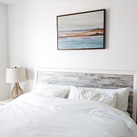 Parure de lit Hôtel draps blancs Linvosges