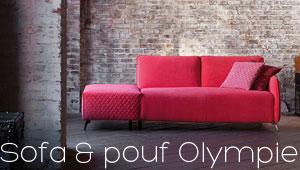 Canapé méridienne Olympie Confort Plus