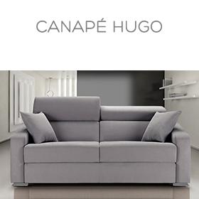 Canapé Hugo Luxury Confort Plus