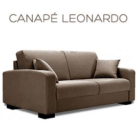 Canapé Leonardo Luxury Confort Plus