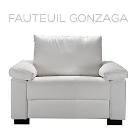 Fauteuil Gonzaga Luxury Confort Plus