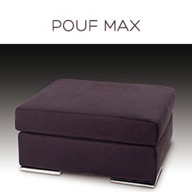 Pouf Max Luxury Confort Plus