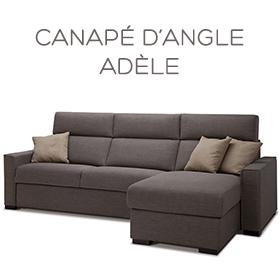 Canapé d'angle Adèle
