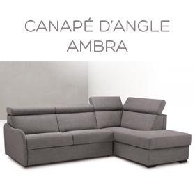 Canapé d'angle Ambra