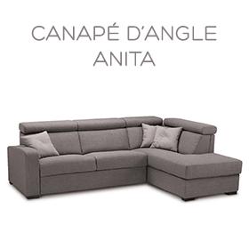 Canapé d'angle Anita