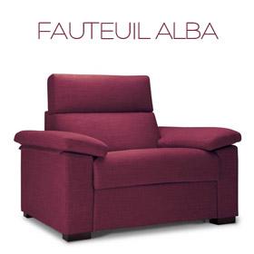 Fauteuil Alba Confort Plus