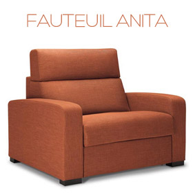 Fauteuil Anita Confort Plus