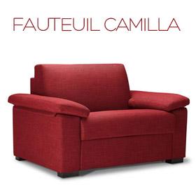 Fauteuil Camilla Confort Plus