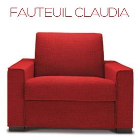Fauteuil Claudia Confort Plus