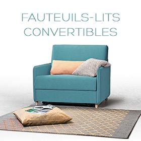Fauteuils lits convertibles une place par Confort Plus