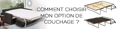Options de couchage Confort Plus