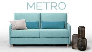 Canapé lit Metro Confort Plus