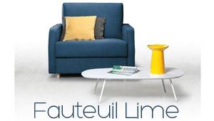 Fauteuil convertible Lime Confort Plus