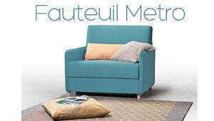 Fauteuil Metro Confort Plus