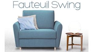 Fauteuil convertible Swing Confort Plus