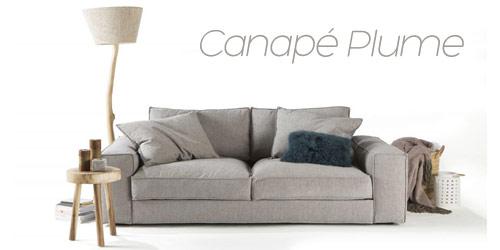 Canapé moelleux Plume